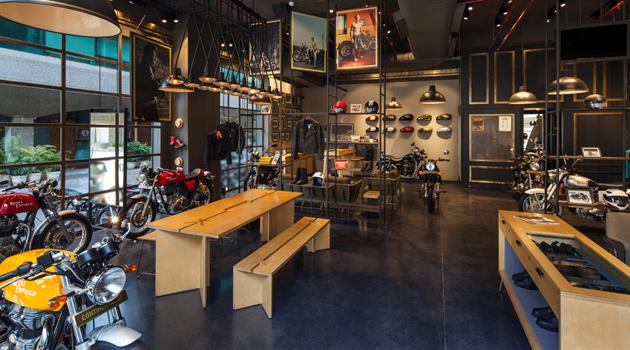 A Bikers Abode