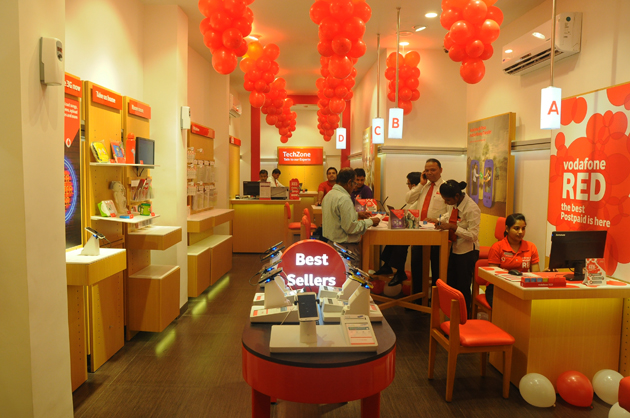 Vodafone launches'Global Design Store' in Kolkata