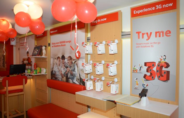 Vodafone launches third global design store in North Kolkata