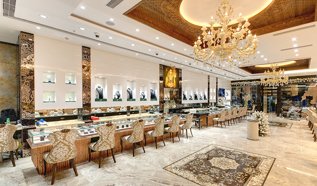 Jewellery Showroom Front Elevation : Imperial unveils its new flagship store at elgin road kolkata
