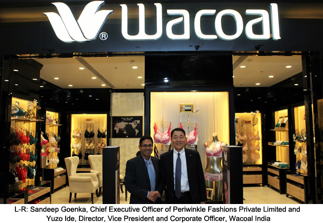 60% discount superior materials 100% high quality Wacoal opens its first Indian outlet in Mumbai