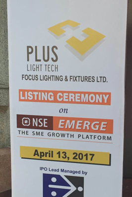 listing with out ipo in india