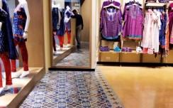 Designer's take on floor covering in retail