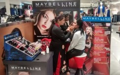 Maybelline creates a sensation with beauty kiosks