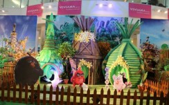 Angry Birds make their presence at Viviana Mall, Mumbai