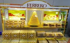 Ferrero Rocher's glittering display for the festive season