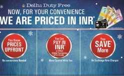Delhi Duty Free to migrate to INR pricing and billing