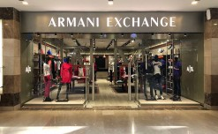 Armani Exchange's new boutique at Ambience Mall, Gurgaon