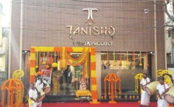 Tanishq launches its new store in Srerampore