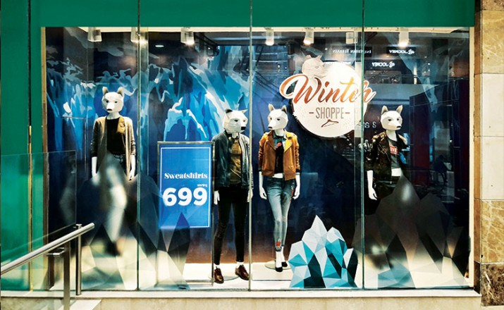 Vm Amp Rd Retail Design Awards 2018 Pantaloons Winter Window