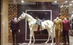 Louis Philippe – 'Constructing' casual wear & royal wedding saga