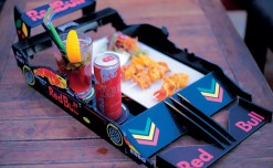 Red Bull crafts racy  experience at Raasta Cafe