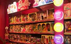Barbie lights up the in-store possibilities