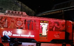 fbb innovates pop-up format in trams of Kolkata
