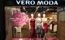 Purple floral muse for Vero Moda
