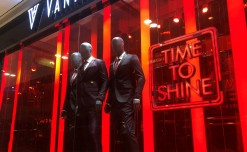 A red shout-out for Van Heusen's Bloodline collection