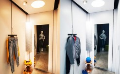 Ansorg's new fitting room concept for compact space
