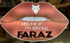 Faraz Signage starts manufacturing props