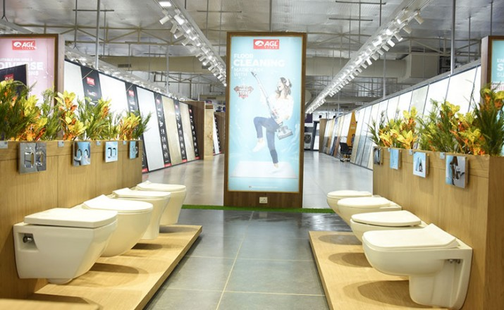 Asian Granito Inaugurates Largest Tiles And Sanitaryware Display Showroom In Himmatnagar