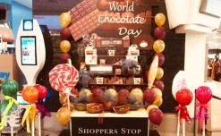Shoppers Stop's sweet surprise at Bangalore Airport