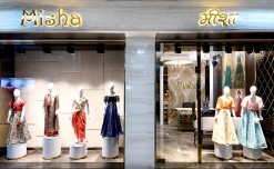 Misha store: Engaging while evoking luxury