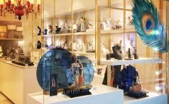 Lladro's striking window display celebrates Janmashtami fervor