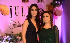 Vaani Kapoor unveils designer Julie shah's new flagship store in Mumbai