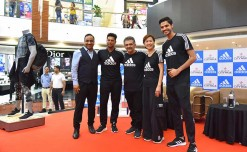 Adidas joins hands with Select CITYWALK against plastic pollution