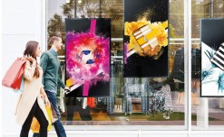 Samsung launches innovative digital window display with dual display solution for retailers
