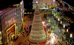 India's tallest Christmas tree unveiled at Phoenix Marketcity Bangalore
