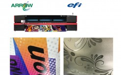 Arrow-Efi introduces VUTEk D3r/D5r UV Roll-to-Roll Printers with white & clear ink capabilities