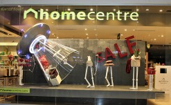 Home Centre creates an out-of-world experience with its unique window