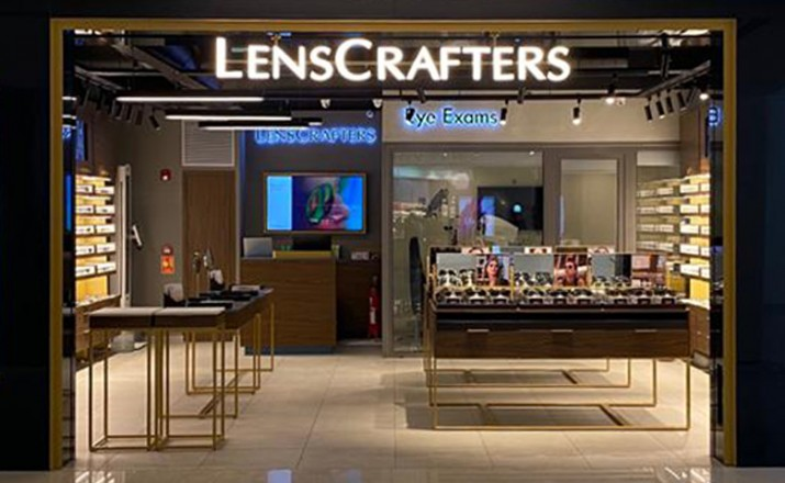 Lenscrafters Sets Foot In India Opens New Store In Delhi