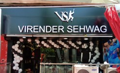 Virender Sehwag launches his first VS brand store in Gujarat