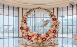 Phoenix Palassio's stunning opening with extravagant floral decor display this summer