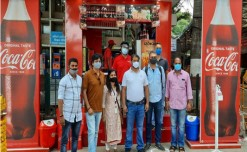 Hindustan Coca-Cola Beverages unveils a beverage only outlet at the KSR Bengaluru Railway Station