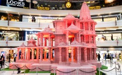 Pacific Mall commemorates victory of good over evil with 'Ram Temple Replica'
