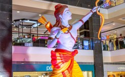 Pacific Group of malls celebrate Diwali with a grand Lord Rama replica
