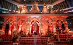 Vegas Mall's latest installation recreates the essence of 'Dev Deepawali' on the Ghats of Varanasi