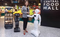 Retail Robotics: Thailand's new Central Food Hall features robots and stores in stores