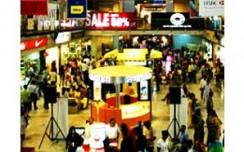 Diwali lights shine on apparel retail stores