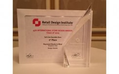 Raymond Ready To Wear store bags award at RDI's 45th Annual International Store Design Competition