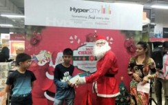 HyperCITY attracts kids with'Letter to Santa' activity