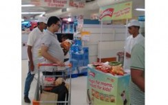 Real Good Yummiez attracts shoppers through sampling activity at stores
