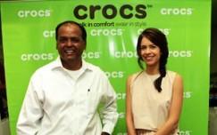 Crocs now at Khan Market