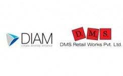 DIAM joins hands with DMS for their Indian operations