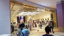 Guess's first India store : Monochromatic and open