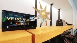 Vero Moda 's merry disco windows