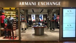 Armani Exchange celebrates Diwali with majestic window displays