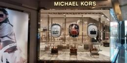 Michael Kors salutes the spirit of womanhood with its dashing window